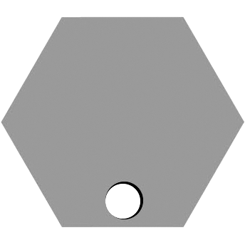Bottom Hexagon Hole