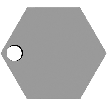 Left Hexagon Hole