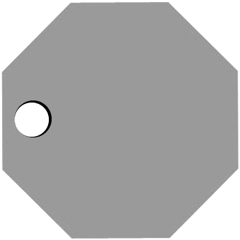 Left Octagon Hole