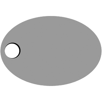 Left Oval Hole