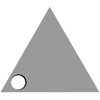 Left Triangle Hole