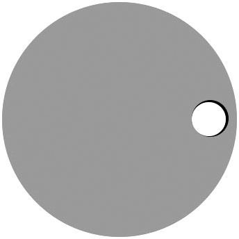 Right Circle Hole
