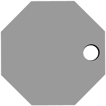 Right Octagon Hole